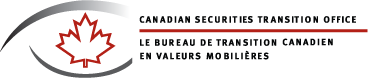 Canadian Securities Transition Office